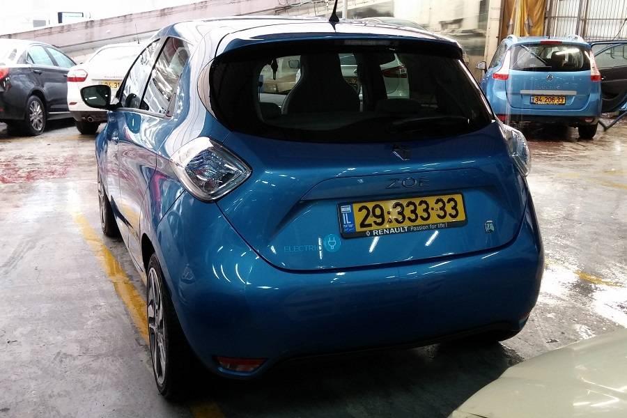 רכב חשמלי רנו ZOE
