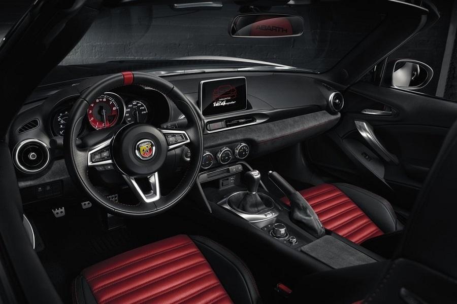 רכב חדש אבארט 124 ספיידר 2016