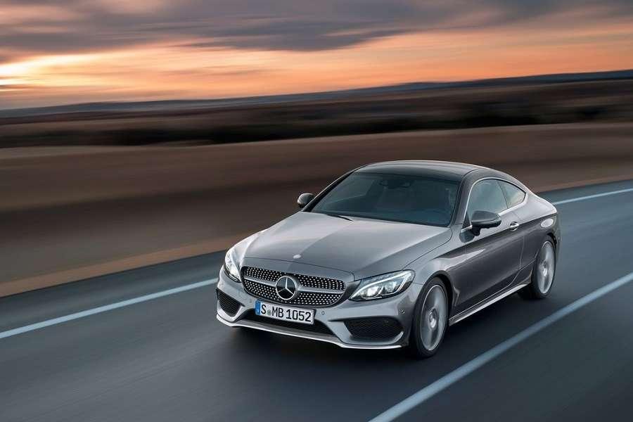 רכב חדש מרצדס C-Coupe 2017