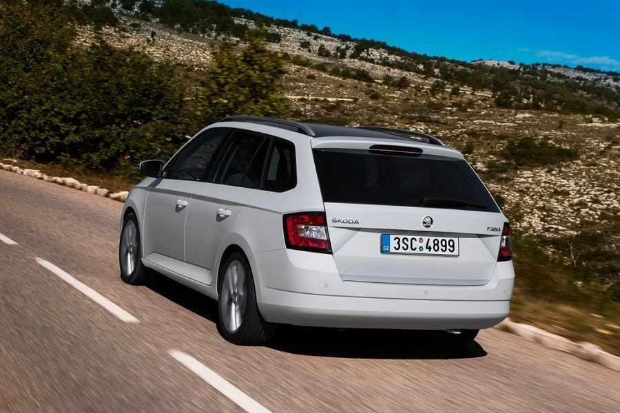 סקודה פאביה קומבי 2016 רכב חדש